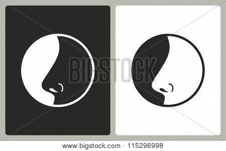 Nose  - Vector Icon.