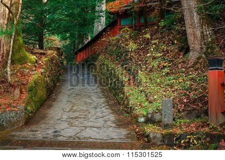 Nikko Futarasan Shrine in Nikko Tochigi Japan