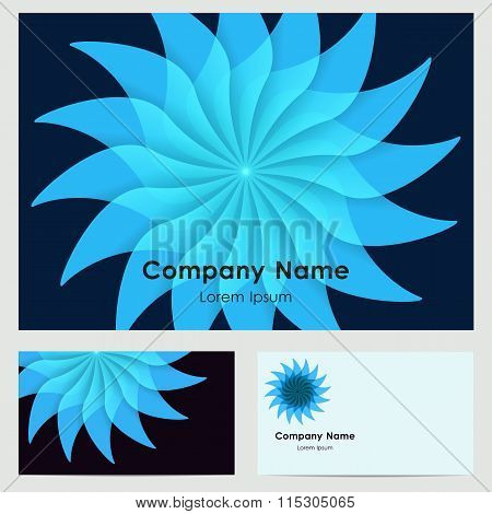 Business Card Design With Logo
