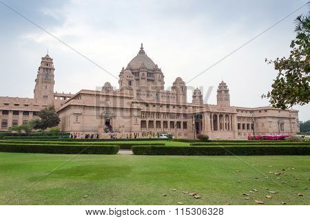 Umaid Bhawan Palace Located At Jodhpur In Rajasthan, India