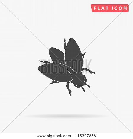 insect simple flat icon
