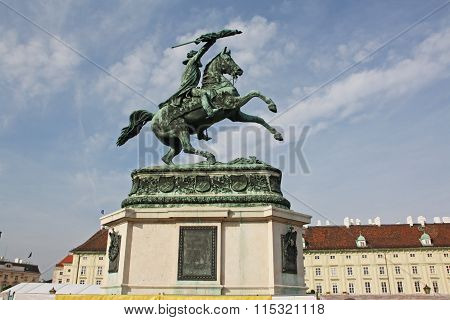 Equestrian monument of Archduke Charles