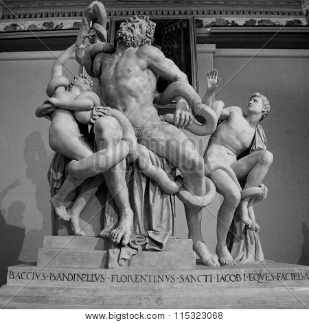 The Statue Of Laocoon And His Sons, Florence, Italy