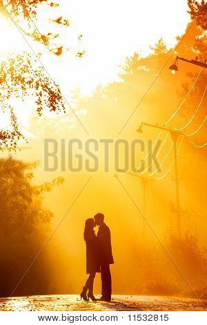 Kisssing Couple