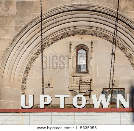 abandoned uptown theatre