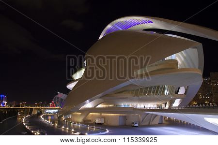 Valencia, City Of Arts And Sciences