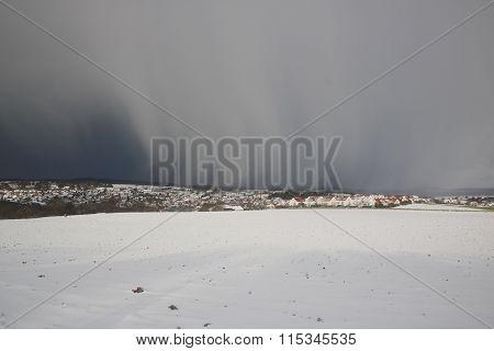 Schneewolken