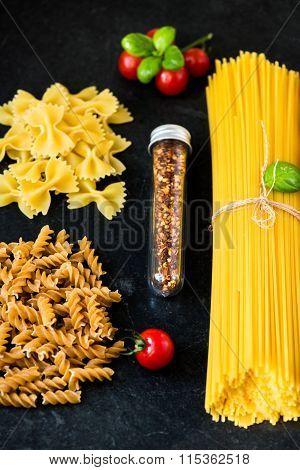 Italian Food Cooking Pasta Ingredients