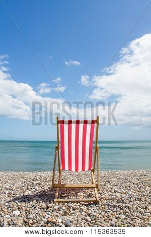 One Deckchair At The Seaside