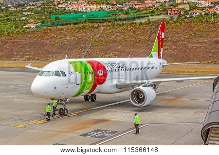 Airport Madeira - Airbus A320