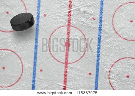 Hockey Puck On The Site