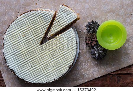 The Waffle Cake