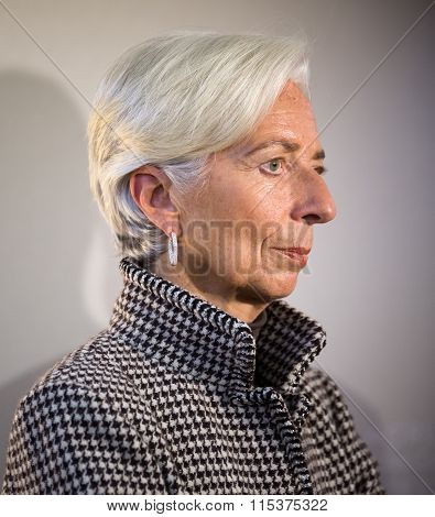 Managing Director Of The International Monetary Fund, Christine Lagarde