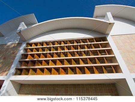 Miro Museum Exterior Building Detail