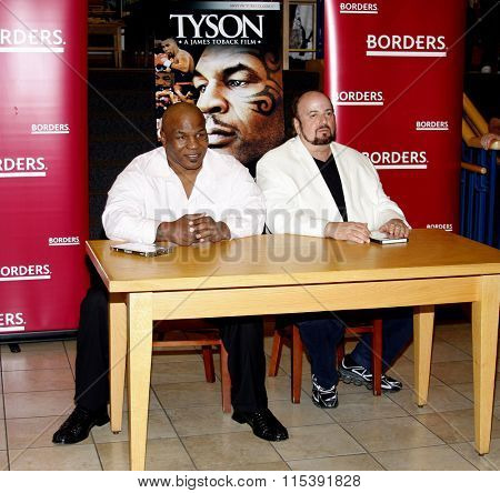 Director James Toback and Mike Tyson promote the Blu-ray and DVD
