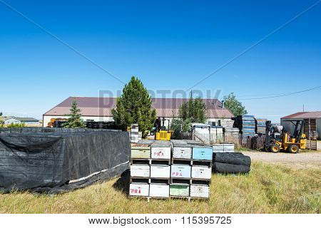Beehives And Equipment