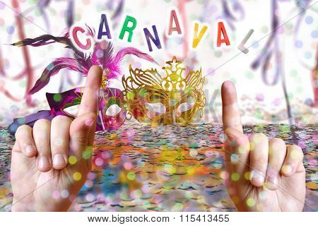 Brazilian Carnival Party time theme