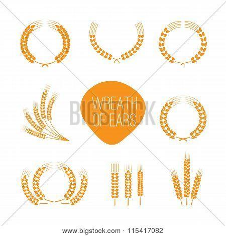 Wreaths Of Wheat Ears