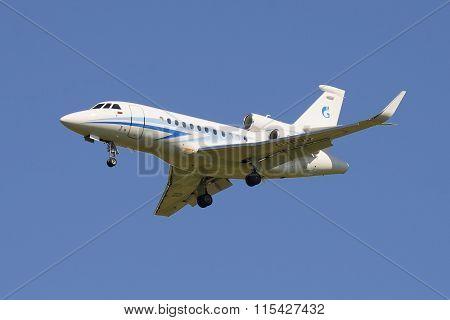 Jet Dassault Falcon 900 EX (RA-09600) of the company