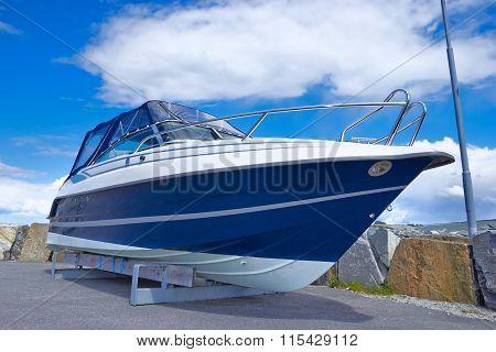 Boat On Repair