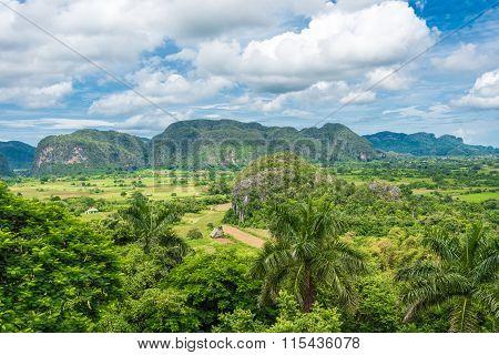 Vinales Valley in Pinar del Rio,Cuba
