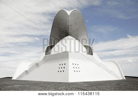 Modern architecture, Santa Crus,Tenerife, Spain