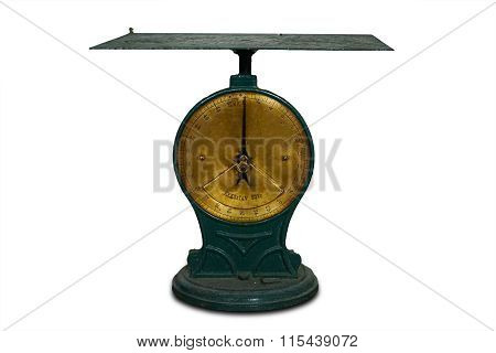 Old Scale With Power Of 50 Kg