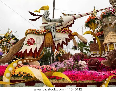 2011 Bayer Advanced Rose Parade float