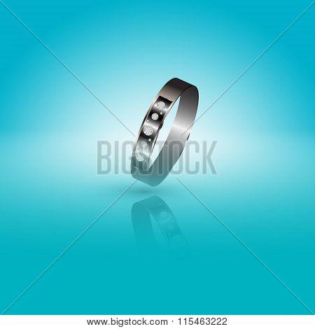 Precious Ring With Diamonds.