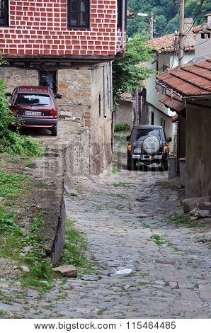 Narrow Cobbled Lane