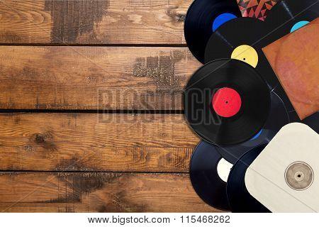 Music records.