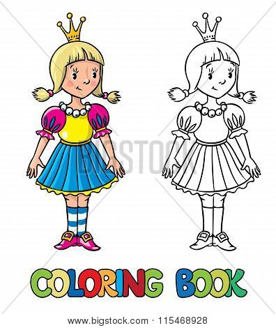 Little Princess. Coloring Book