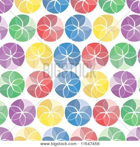 Vivid colorful repeating abstract seamless background. Suitable for fashion material paint poster