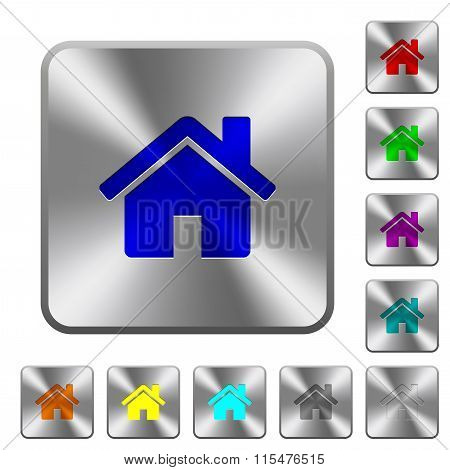Steel Home Buttons