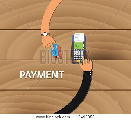 pay merchant payment debit credit card machine