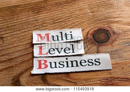 Mlb- Multi Level Business