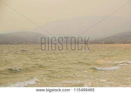 Summer Fire Smoke Haze