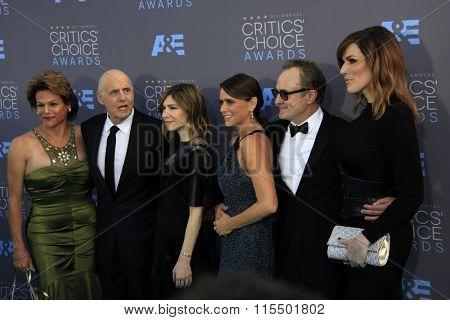 LOS ANGELES - JAN 17:  Jeffrey Tambor at the 21st Annual Critics Choice Awards at the Barker Hanger on January 17, 2016 in Santa Monica, CA