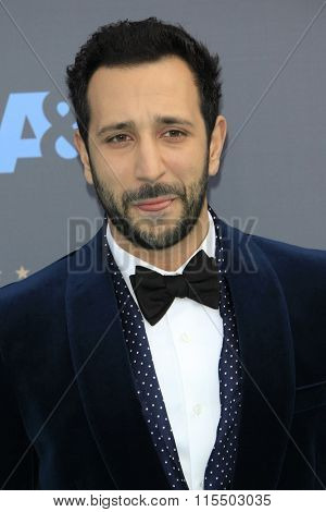 LOS ANGELES - JAN 17:  Desmin Borges at the 21st Annual Critics Choice Awards at the Barker Hanger on January 17, 2016 in Santa Monica, CA