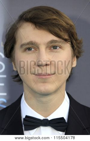LOS ANGELES - JAN 17:  Paul Dano at the 21st Annual Critics Choice Awards at the Barker Hanger on January 17, 2016 in Santa Monica, CA