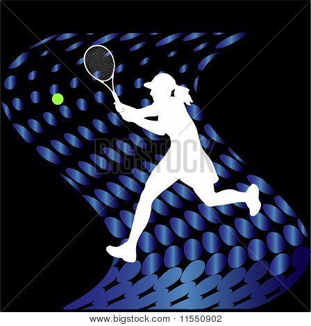 Tennis Players - Vector