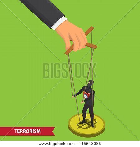 people manipulating illustration