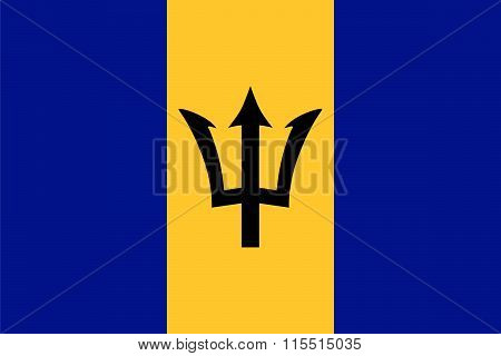 Standard Proportions For Barbados Flag