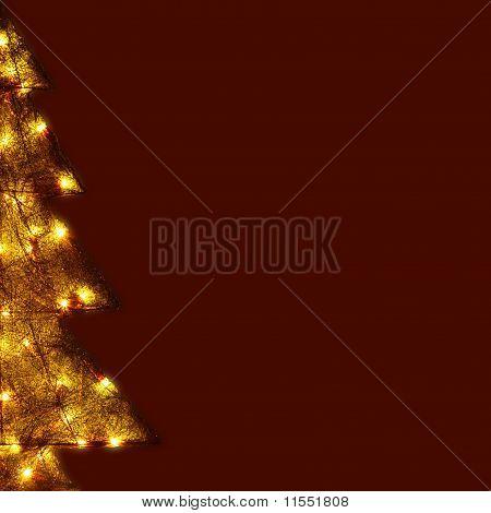 Christmas Card - Shining Tree