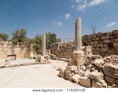 Sebastian, Ancient Israel, Ruins And Excavations