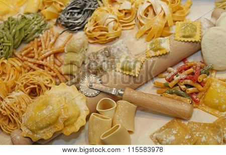 Italian Fresh Pasta Made At Restaurant