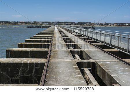 Goolwa Barrage & Lock, South Australia