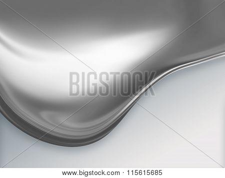 wave of molten metal
