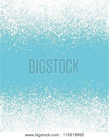 Blue Graffiti Effect Winter Gradient Background