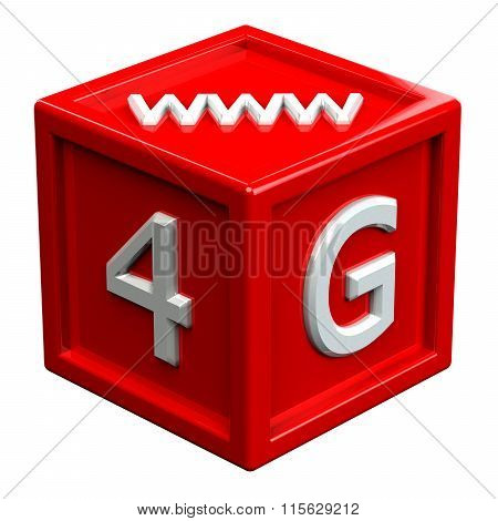 Block With Signs: 4G, Www